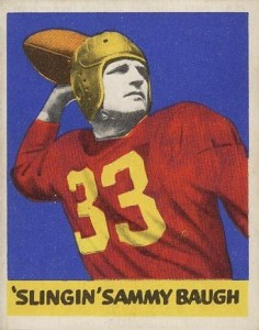 Sammy Baugh Rookie Cards Guide and Checklist  2