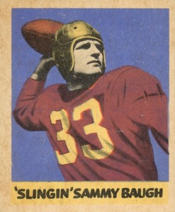 Sammy Baugh Rookie Cards Guide and Checklist  5