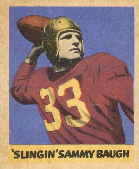 1949 Leaf Football Cards 1