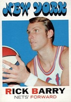 Rick Barry Rookie Cards Guide and Checklist