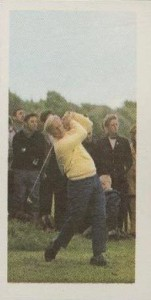 1971 Barratt & Co. Ltd. Goldflake Famous Sportsmen Jack Nicklaus #6