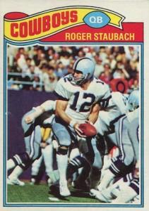 1977 Topps Roger Staubach #45