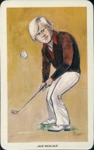1979 Venorlandus World of Sport Our Heroes Jack Nicklaus #22