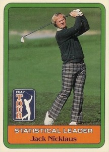 1981 Donruss Jack Nicklaus Statistical Leader