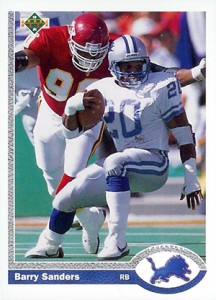 1991 Upper Deck Football Promo Card