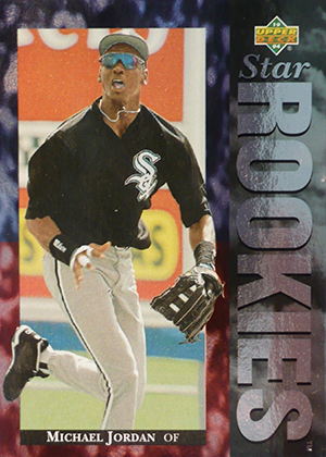 1994 Upper Deck Baseball Base 19 Michael Jordan