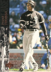 1994 Upper Deck Baseball Base 300 Frank Thomas