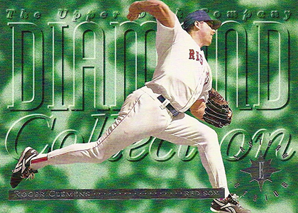 1994 Upper Deck Baseball Diamond Collection Roger Clemens