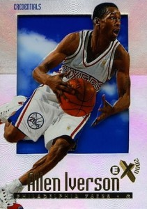 1996-97 E-X2000 Credentials Allen Iverson RC #53