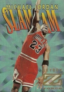 1996-97 Skybox Z-Force Basketball Slam Cam Michael Jordan