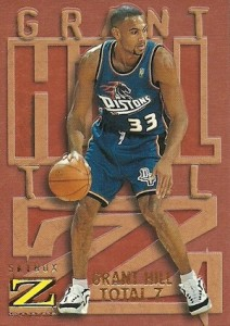 1996-97 Skybox Z-Force Basketball Total Z Grant Hill