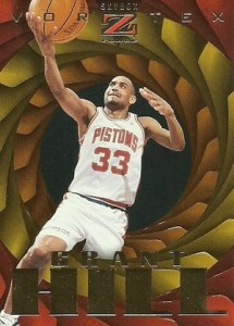 1996-97 Skybox Z-Force Basketball Vortex Grant Hill
