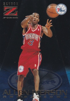 1996-97 Skybox Z-Force Basketball Cards 14