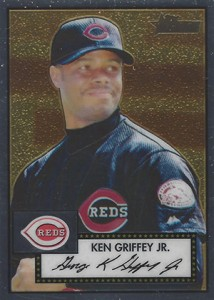 2001 Topps Heritage Chrome Ken Griffey Jr
