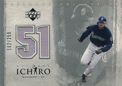 2001 Upper Deck Ultimate Collection Ichiro Jersey