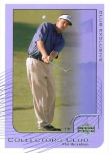 2002 Uper Deck Collectors Club Phil Mickelson #PGA2