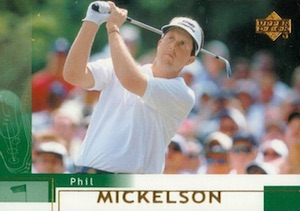 2002 Upper Deck Phil Mickelson RC #41