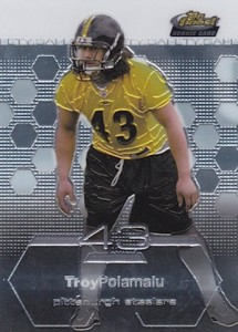 10 Football Cards to Celebrate the Career of Troy Polamalu 1