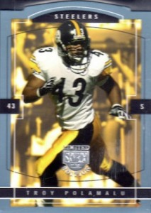 10 Football Cards to Celebrate the Career of Troy Polamalu 4