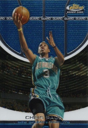 2005-06 Finest Chris Paul RC #106