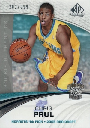 2005-06 SP Game Used Chris Paul RC #149