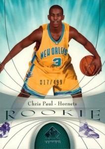2005-06 SP Signature Edition Chris Paul RC #104