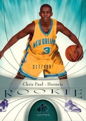 2005-06 SP Signature Edition Chris Paul RC #104
