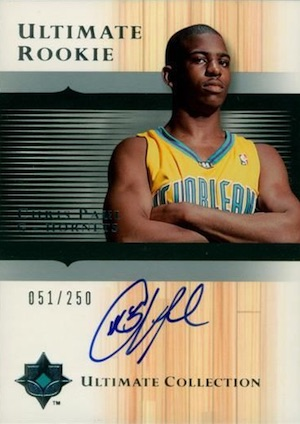 2005-06 Ultimate Collection Chris Paul RC #146 Autograph