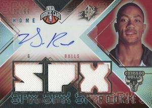 Top 10 Derrick Rose Rookie Cards  7