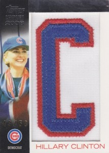 2008 Topps Campaign 2008 Letter Patches