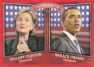 Hillary Clinton in 2016? Collectors Can Find Her Cards Now! 5