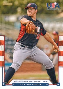 Carlos Rodon Prospect Card Highlights 1