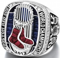 2013 Boston Red Sox World Series Ring