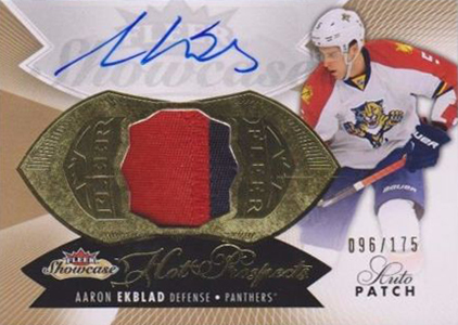 2014-15 Fleer Showcase Aaron Ekblad RC
