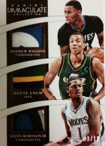 2014-15 Panini Immaculate Collection Basketball Cards 52