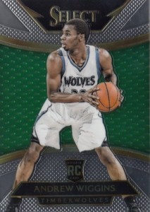 2014-15 Panini Select Andrew Wiggins RC #294 Courtside