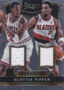 2014-15 Panini Select Basketball City to City Jersey Pippen