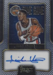 2014-15 Panini Select Basketball Fame Game Autograph