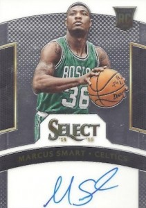 2014-15 Panini Select Basketball Rookie Signatures Marcus Smart