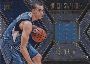2014-15 Panini Select Basketball Rookie Swatches
