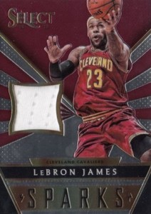 2014-15 Panini Select Basketball Sparks LeBron James