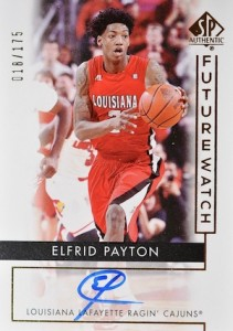2014-15 SP Authentic Future Watch Elfrid Payton #101 Autograph
