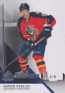 2014-15 SP Game Used Aaron Ekblad RC