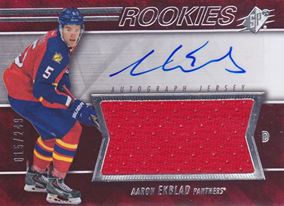 Aaron Ekblad Rookie Cards Checklist and Guide 5