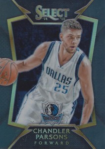 2014-15 Panini Select Basketball Prizm Parallels Visual Guide 7