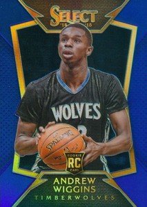 2014-15 Panini Select Basketball Prizm Parallels Visual Guide 2
