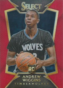 2014-15 Panini Select Basketball Prizm Parallels Visual Guide 5