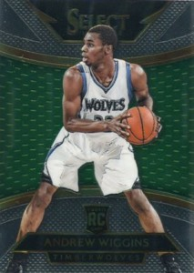 2014-15 Panini Select Basketball Prizm Parallels Visual Guide 22