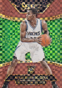 2014-15 Panini Select Basketball Prizm Parallels Visual Guide 28