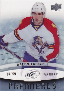 2014-15 Upper Deck Ice Aaron Ekblad RC